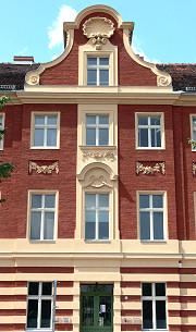 Das Wohnhaus Am Bassin 3, Potsdam im Sommer 2007